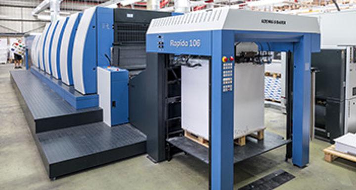 Digital web printing | Koenig & Bauer | we're on it